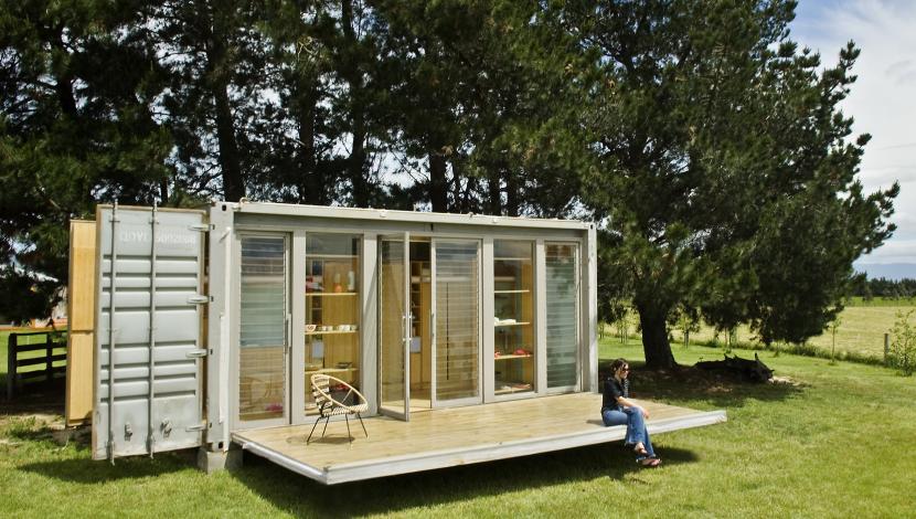 Container Zum Wohnen green bauen wohnen mobiles zuhause im umgebauten container